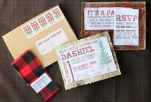 LUMBERJACK 1st Birthday Party / by Little Retreats