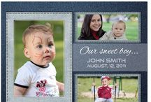 Baby Collage Set - John Baby Photoshop Template