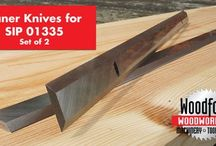 SIP Planer Blades / by Woodford Woodworking Tools and Machines UK.