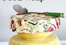Beeswax food covers
