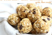 Food - Snacks / Easy snack recipes - alternates to chocolate and timtams... but not necessarily all healthy