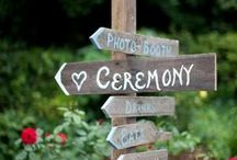 Onze bruilofts ideeen