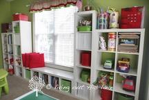 My craft room / My dream craft room inspiration and organization! Feel inspired! / by Alayne Hasiak