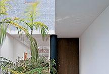 hall de entrada/jardim