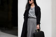 Autumn/ Winter style / Oversized everything ....