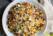 Quinoa Salads / Quinoa Salads: Tons of quinoa salad recipes pinned by Loveleaf Co. Many gluten free, dairy free, and vegan.