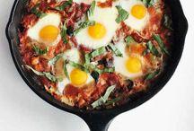 Breakfast / Healthy breakfast