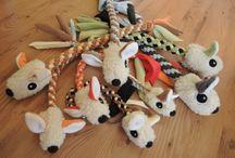 Hračky pro psy a jejich lidi / Hračky pro psy a jejich lidi, nebo-li hračky určené pro společnou zábavu, spolupráci, přemýšlení apod.