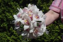 Bridal Orchid Bouquet