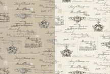 "Clarke and Clarke Manuscript / Manuscript is part of the Fougères collection created by Clark & Clarke. A classical nostalgic patterned linen fabric which is inspired by a French theme - classic colourways create an elegant look which can be used in the home to create a vintage feel. The fabric creates soft furnishings of classic luxury and sophistication for any interior. The Width = 137 cm (54"") The Pattern Repeat = Vertical: 64 cms (25"")                               Horizontal: 68.5 cms (27"")"