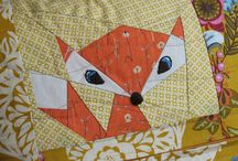 Paper Piecing / by Lola Pink Fabrics
