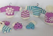 Knitting & Crochet Christmas Decorations