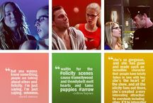 Inevitable Arrow Board. / Um, it's a lot of stuff about Arrow, characters, and stars. #FelicitySmoak #StephenAmell #EmilyBettRickards #OliverQueen #JohnDiggle #DavidRamsey
