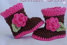 crocheted items / by Lynn Woodard