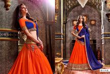 2654 Simran Barfi silk party wear lehenga choli