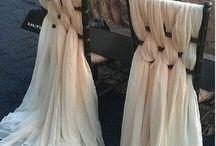 Chair drape ideas