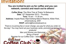 The Notice Board & Coffee Club / Online Advertising and Marketing Made Easy.  Are you a entrepreneur or a small business! The Notice Board is all about you. We advertise your business over the whole of South Africa, in 9 provinces over 100 categories to choose from.   The Notice Board also has a coffee club where we meet on a monthly basis at selected coffee shops, creating a platform for you and our advertiser to network, connect and reach out.   For information visit our website - www.thenoticeboard.co