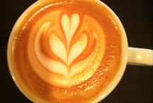 Barista latte art / Coffee latte art heart rozeta flower