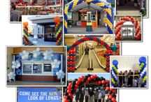 Grand Opening Balloons / Balloon Decor Ideas for Grand Openings