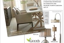 Charlotte North Carolina Decor and Luxury Home Furnishings / Love the unique styling that exits in Charlotte and Pineville North Carolina for quality, name brand furniture. / by Good's Home Furnishings