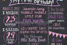 Tayas 1st birthday ideas