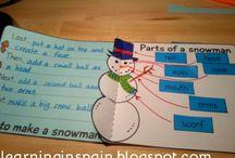 Procedure writing snowmam