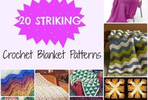 Crochet Blankets / Crochet blankets and crochet blanket patterns. The best of the best from around the web to inspire you in making your own crochet throws, afghans, lapghans and bedding.