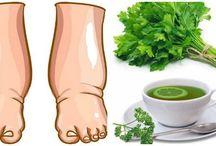 Santé jambes enflees