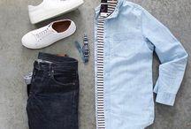 ブルーシャツ