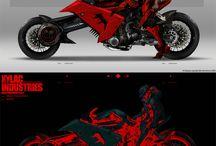 Motos. / Motorcycles.