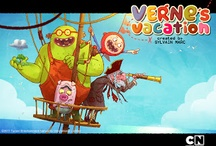 Art of Verne`s vacation