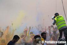 Festival del Holi en Barcelona