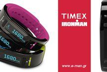 TIMEX WATCHES / Ρολόγια για αθλητές και όχι μόνο...