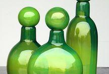 Konstglas / glas