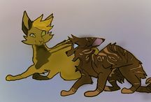 ForestClan / This is another Clan with my own characters and with my paints.