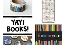 Book gifts / Bookish gifts and gift ideas