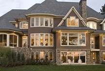 Brick home exterior / by Heather Currier