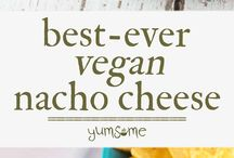 """""""Cheesy"""" Vegan Recipes / Tasty vegan recipes that are all about that ooey gooey, melty plant-based cheese.  Healthy and easy-to-make vegetarian recipes that will leave your mouth watering!  It's love at first taste!  This board has both recipes that use vegan cheese, as well as, recipes to make your own vegan cheese from scratch!  Deliciously dairy-free!"""