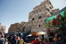 YEMEN - Prima di tre parti / La capitale Sana'a e dintorni