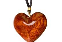 木製首飾り   Wooden Pendants