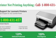 Contact 1800-431-457 to Fix Lexmark Printer Not Printing Anything