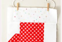 Red Bolly Christmas quilt along