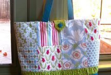 Charm pack totes