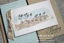 Sea birds card