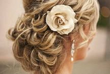 Wedding hair/makeup and accessories  / by Siobhan Flynn