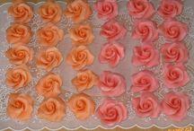 ruže z marcipanu