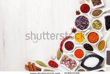 Fűszerek / Fűszer termékminták csomagolása Tesco