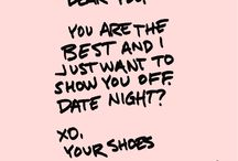 Letters From Your Shoes: Sole To Soul / What are your shoes saying to you?  / by Foot Petals