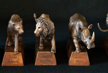 Bronze Sculptures - Trophies and Plaques / Trophies and Plaques - Bronze Sculptures by Sarah Richards - the ideal corporate gifts.