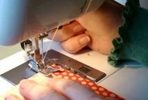 sewing on cards